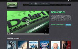 Site Delart Estúdios Cinematográficos - A Delart tem uma longa trajetória no mundo da dublagem
