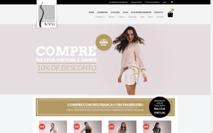 Site Femme & Nina - Loja de roupas femininas