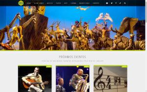 Site Guia Cultural do Rio de Janeiro - Cinema, Música, Teatro e Arte, tudo isso e muito mais encontramos aqui