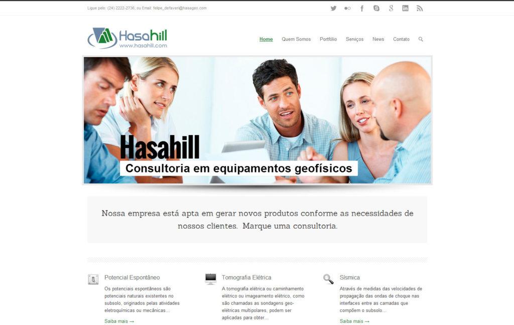 Site Hasahill - Consultoria em equipamentos geofísicos