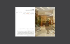Site Larq Arquitetura e Planejamento