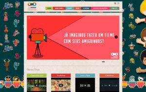 Site Novo Cineminha - ovo Cineminha é uma vertente do projeto Novo Cinema, que visa incentivar as crianças