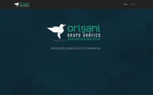 Site Gráfica Origami - Produções Gráficas e Fotográficas