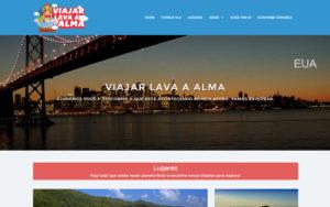 Site Viajar Lava a Alma - Uma família que ama viajar