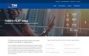 Site Plano Corporativo Tim - Planos Tim Celular