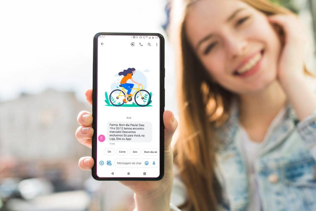 Imagem Criação de Programa de fidelização e sms